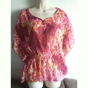 Ambiance Apparel Tops - Ambiance Apparel Splash Of Color