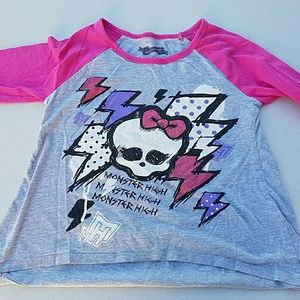 monster high Other - Monster High three quarter sleeve tee