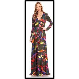 Dresses & Skirts - Small thru Small Confetti Maxi Dress