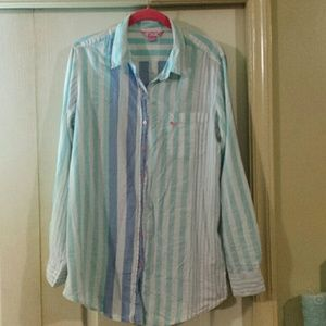 PINK Victoria's Secret Other - VS PINK Button Down Sleep Shirt.