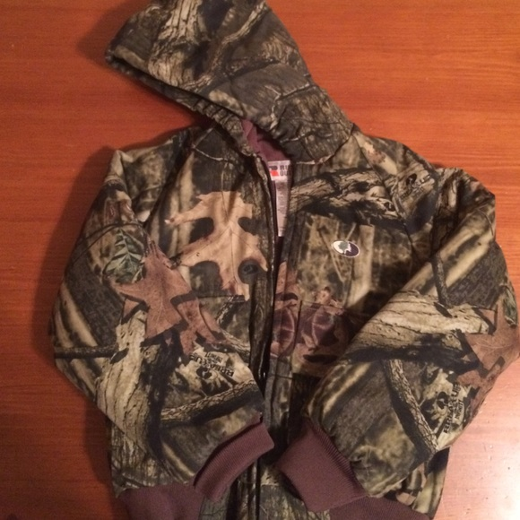 da9692301396e russell outdoors Jackets & Coats | Junior Flintlock Camo Jacket ...