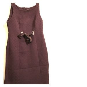A brown Taylor dress