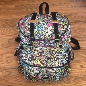 tokidoki Handbags - Tokidoki Abbraccio backpack - Leo print