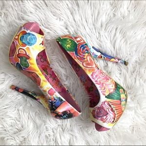 Iron Fist Shoes - 🍭Candy Heels🍭