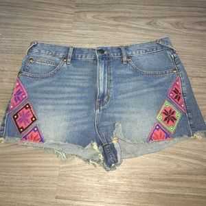 NEW Free people high jean shorts, size 31