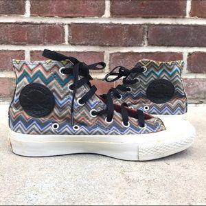 Converse x MISSONI Hi Top Sneakers