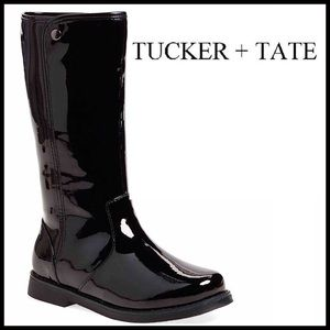 Tucker + Tate Other - ❗️1-HOUR SALE❗️Black Patent Tall Riding Boots