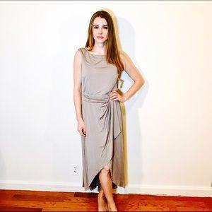 Suzi Chin Dresses & Skirts - SUZI CHIN FOR MAGGY BOUTIQUE GRAY DRESS #595