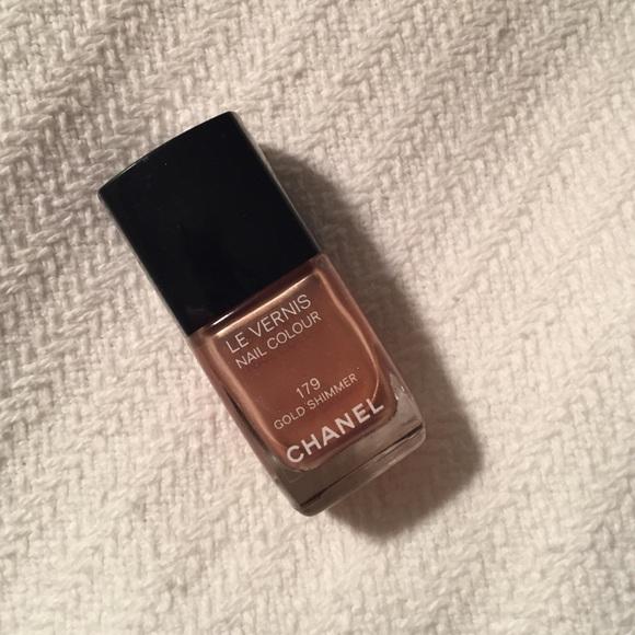 CHANEL Other | SALEBRAND NEW Nail Polish Gold Shimmer | Poshmark
