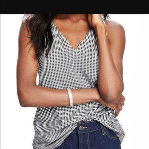 Old navy NWT swing checkered tank