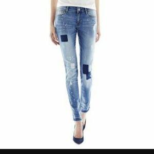 Denim - Super Slim MNG Jeans, size 8