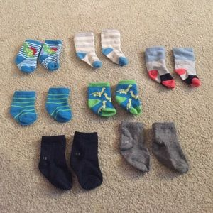 Other - lot of baby socks (7 pairs)
