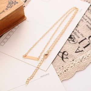Jewelry - Classic Bar Necklace