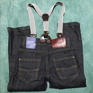 Baker by Ted Baker Other - Baker by Ted Baker Boys Jeans with Suspenders