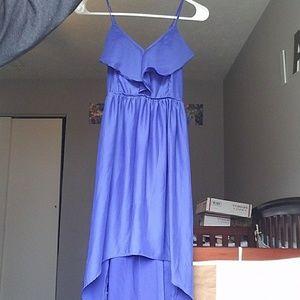 Kimchi Blue Dresses & Skirts - Blue high low dress