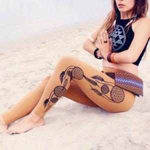 AA Dream Catcher Print Leggings Yoga Dreamcatcher
