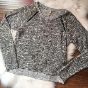 A+ Ellen Tops - Zipper Sweatshirt