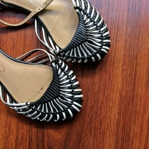 Report Signature Shoes - Pre-loved Weaved Report Signature Sandals