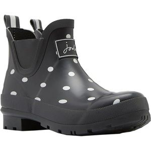 Joules Shoes - Joules Wellibob boot silver spot 7