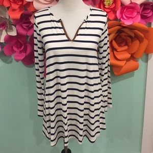ONE LEFT Stripe Tunic - Size Medium