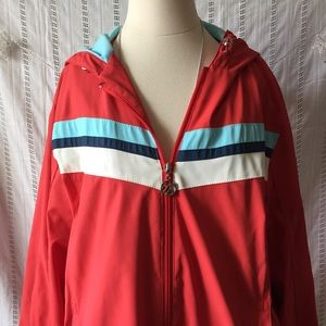 ZeroXposur Jackets & Blazers - Zeroxposur Vintage hooded red jacket XL