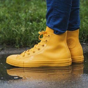 Converse Shoes - NEW Converse Chuck Hi Top Yellow Honey Shoe Boot