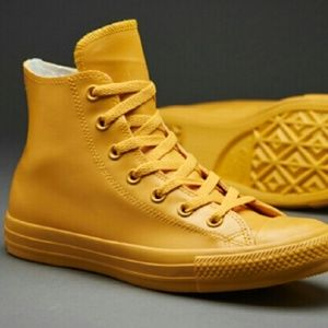 90b41a8ec4f019 Converse Shoes - NEW Converse Chuck Hi Top Yellow Honey Shoe Boot
