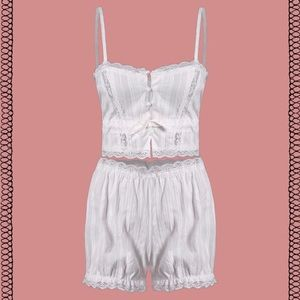 Other - ✨♡Linen Tush 2-piece pajama set♡