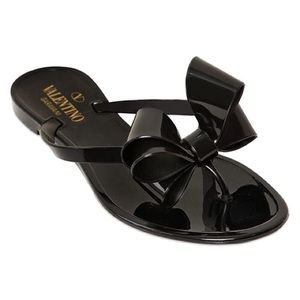 Valentino Shoes - Couture Jelly Flat Sandals