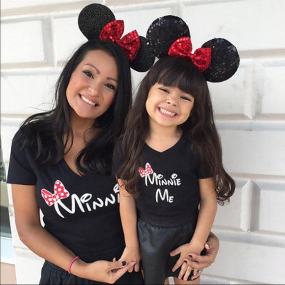 f6166ef2 Minnie Mouse mommy and me set. M_588ab75f9c6fcf57c3052ab1