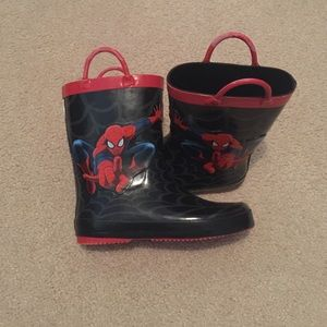 Spiderman Other - Spider man rain boots