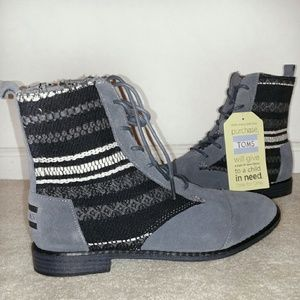 TOMS Shoes - TOMS Waterproof Gray Boots