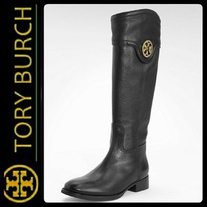 Tory Burch Shoes - Tory Burch Leather Riding Boots