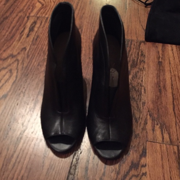 acf5e19f917 Jessica Simpson Shoes - NWOT Jessica Simpson Peep Toe Wedge Booties