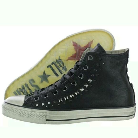 buy online 4b72b d6185 Converse Chuck Taylor John Varvatos Leather Black