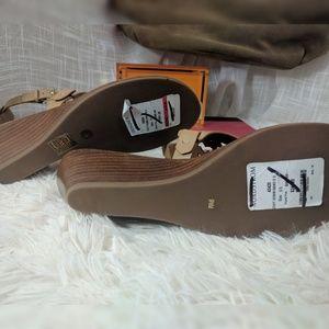 f740de51062 Tory Burch Shoes - Tory Burch Zoey Wedge Sandals NWT