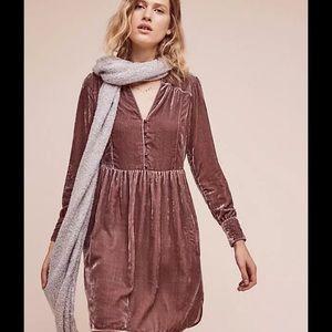 Anthropologie Dresses & Skirts - NEW Holding Horses Velvet dress Anthropologie XS/S