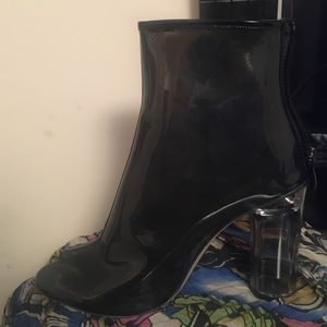 Bootie Black Heels