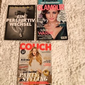 Other - German fashion and lifestyle magazines