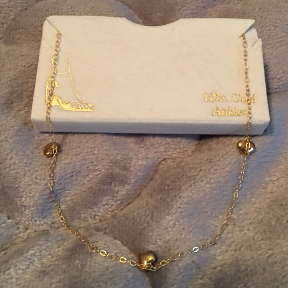 new gold box in ankletnew nwt m listing anklet inch