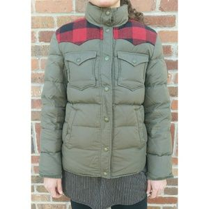 Penfield Rockford Plaid Yoke Down Jacket S
