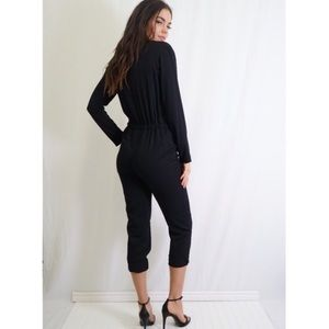 "Tea n Cup Pants - 🆕JUST IN! ""Off duty jumpsuit"" in blk"