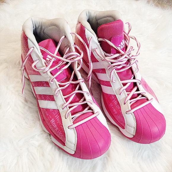 Será móvil compañero  Adidas Shoes | Pink Basketball Wnba | Poshmark