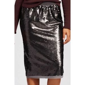 Who What Wear Dresses & Skirts - Who What Wear Sequin Skirt