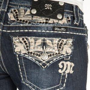 Miss Me Denim - Miss me boot cut jeans.