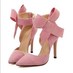 71% off Whittall and Shon Shoes - Light Pink Brooch Pumps from