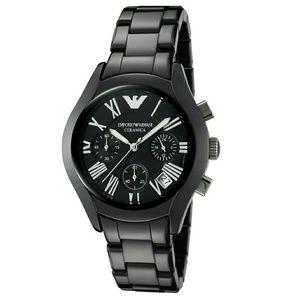 emporio Armani  Accessories - NWT Emporio Armani Ceramic Chronograph watch