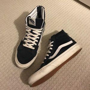 Vans Slim Sk-8 High Top Zip Sneakers - Scotchgard