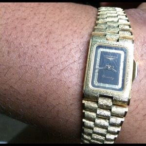 Longines Jewelry - Longines Gold Watch Swiss France