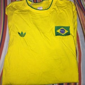 Adidas Brazil authentic soccer jersey